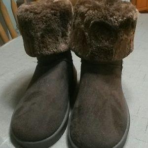 Women's brown boots 9